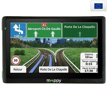 Navigation GPS MAPPY ULTI E511 NOIR EUROPE 14 PAYS