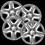 16 chrome hubcaps impala - Hub-Caps for Select Chevy Impala and Monte Carlo (Pack of 4) 16 Inch Chrome Wheel Covers