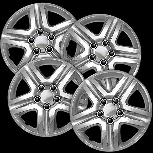 16 chrome hubcaps impala - 1