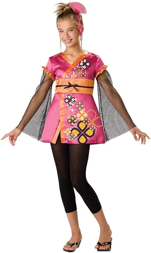 Costume Halloween Geisha.Amazon Com In Character Chinese Geisha Outfit Tween Girls Halloween Costume Toys Games
