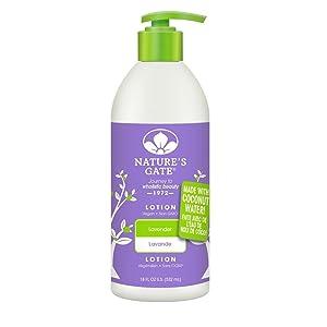 Nature's Gate Lavender Lotion, 18 Fluid Ounce