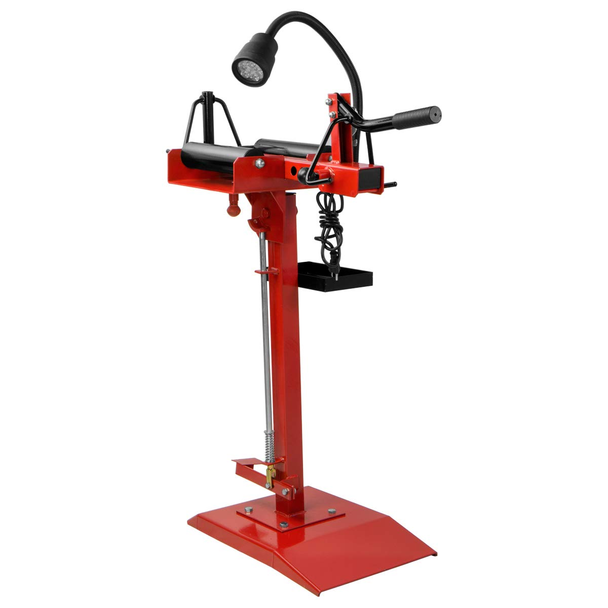 XtremepowerUS Manual Tire Spreader Portable Tire Changer Stand Adjustable LED Light Tire Spreader Tool for Light Truck Car by XtremepowerUS