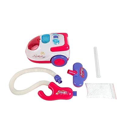Togames-ES Aspirador eléctrico Divertido para niños Juguete Realista con Sonido Ligero Juego portátil Electrodomésticos: Amazon.es: Juguetes y juegos