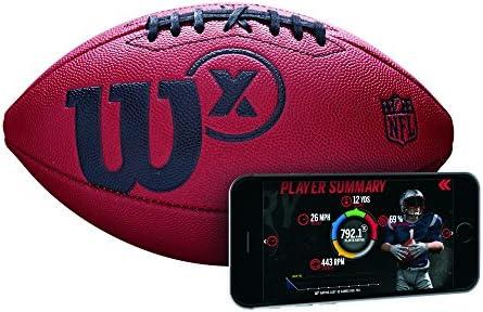 Wilson X Official SZ Football Balón de Fútbol Americano, Unisex ...