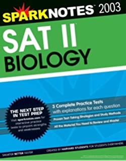 Amazon sat ii biology for dummies 9780764578427 scott a sat ii biology sparknotes test prep fandeluxe Gallery