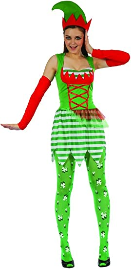 Disfraz elfo mujer S: Amazon.es: Juguetes y juegos