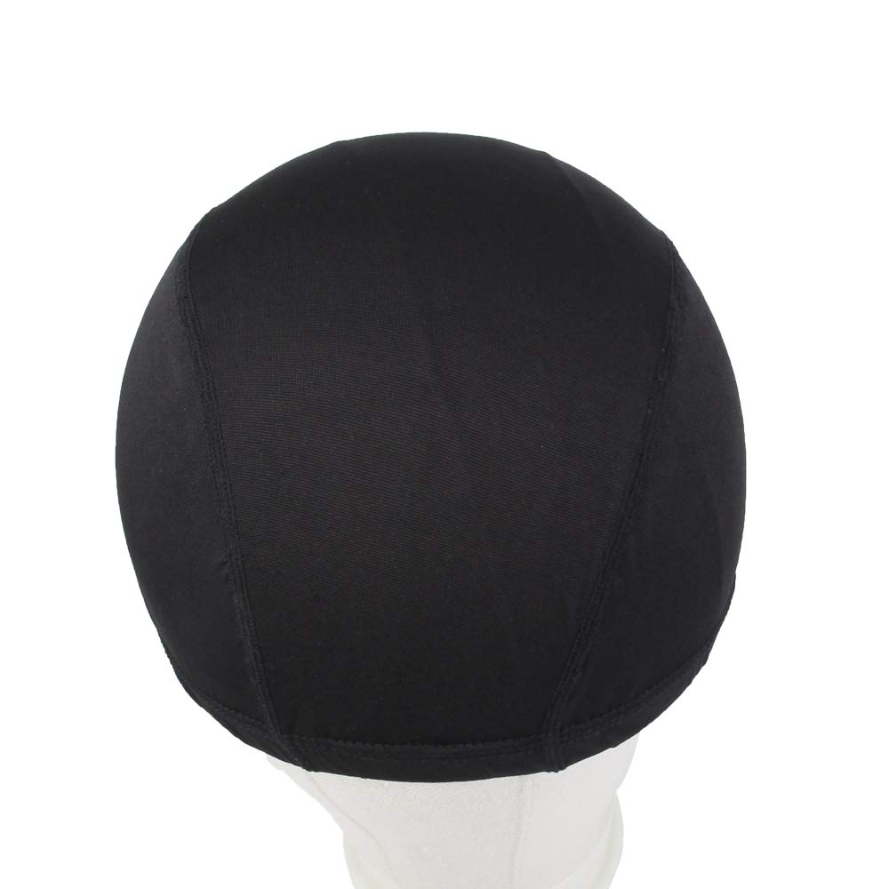 Dome Caps For Wigs 12 Pcs Stretchable Wigs Cap Spandex Dome Wig Caps For Men Women by YOUNIQUE (Image #6)