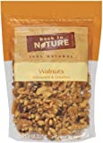 Back To Nature Walnuts, Unroasted & Unsalted, 8-Ounce Pouches (Pack of 3)