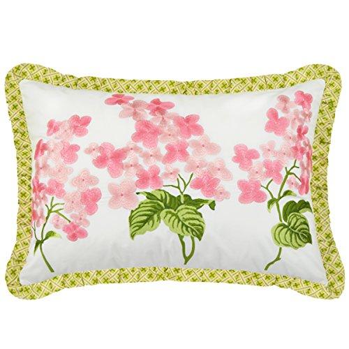 - WAVERLY Emma's Garden Decorative Pillow, 14x20, Blossom
