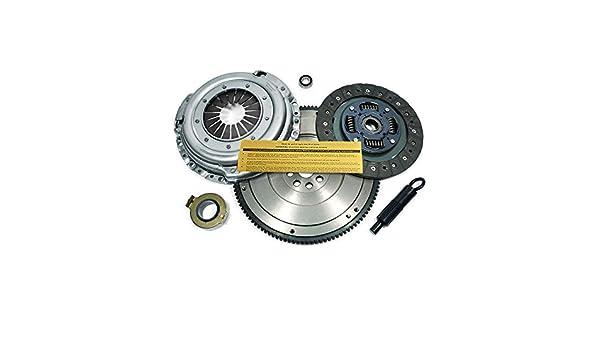 EFT Kit de embrague + HD volante para 98 - 99 Nissan Frontier 96 - 97 pastilla 2.4L 2 WD 4 WD: Amazon.es: Coche y moto