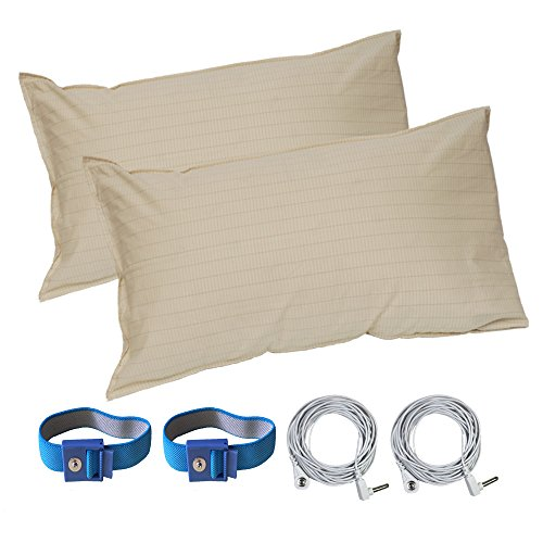LandKissing Pillow Case for Grounding(2sets)