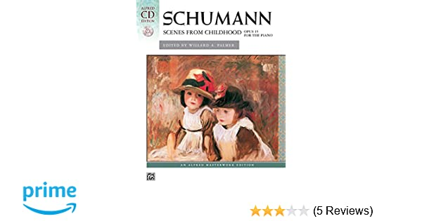 Schumann Scenes from Childhood Book and CD