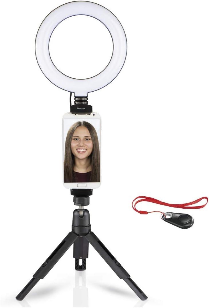 Hama Led Ringlicht Stativ Mit Halterung Für Handy U Kamera