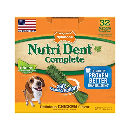 Nutri Dent Adult Chicken 32Ct Medium Pantry Pack