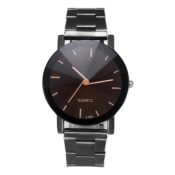 Amazon.com: Makalon Diseno Unico Craneo Relojes Hombres Lujo Deportes Cuarzo Militar Acero Reloj: Watches