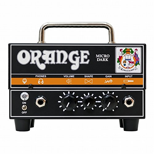 Orange Amps 1 Electric Guitar Power Amplifier, Black (Micro Dark)