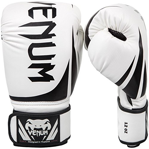 Venum Challenger 2.0 Boxing Gloves - White - 16-Ounce