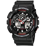 Casio G-Shock Analog-Digital Black Dial Men's Watch - GA-100-1A4DR (G272)