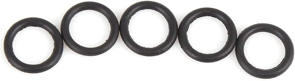 X AUTOHAUX 100pcs 10mmx1.5mm Nitrile Rubber O-rings Heat Resistant Sealing Ring Gaskets for Car