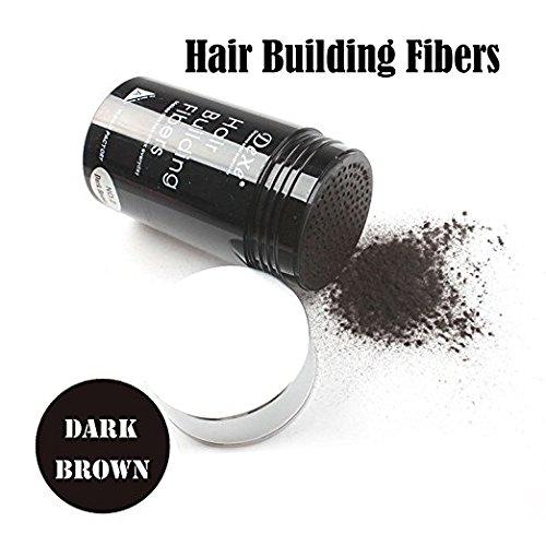 (Easy to Use Lose Hair Building Fibers Dark Brown Color)