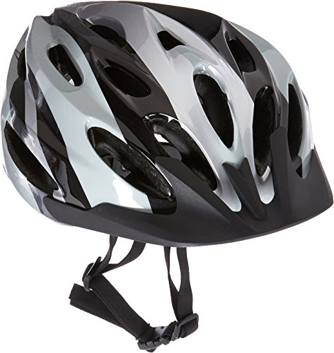 UPC 016751975306, USA Helmet V-22 Elite Bicycle Helmet, Black/Silver