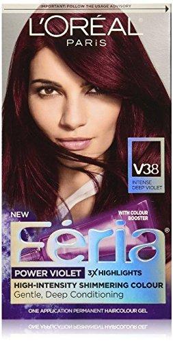 loreal-feria-power-violet-hair-color-v38-intense-deep-violet-pack-of-2