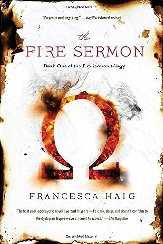 The Fire Sermon Amazon Co Uk Haig Francesca 9781476767215 Books