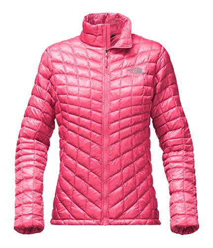 The North Face Womens Thermoball Full Zip Jacket (Medium, Honeysuckle Pink) -