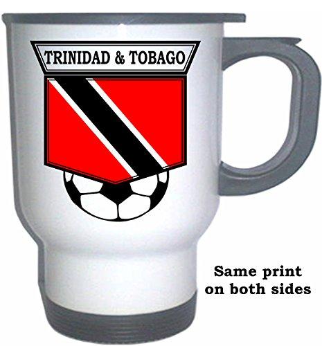 Tobago Mug - Trinidad And Tobago Soccer White Stainless Steel Mug