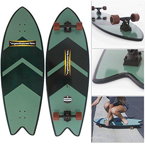 Nickel Classic Pressure Balance (Hamboards Pescadito Skateboard (Green Chevron))