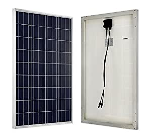 ECO-WORTHY 100 Watts 12 Volts Polycrystalline PV Solar Panel