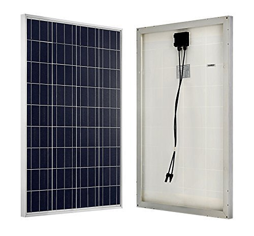ECO WORTHY 100 Watts 12 Volts Polycrystalline PV Solar Panel (Lawn U0026 Patio)