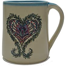 Great Bay Pottery Heart Coffee Mug