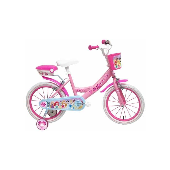 Disney – Bicicleta con ruedines y Cesta
