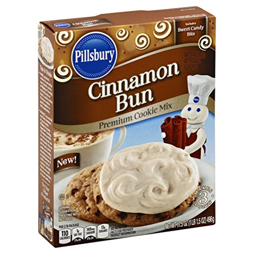 Pillsbury Cinnamon Bun Flavored Cookie Mix, 12 Count by Pillsbury