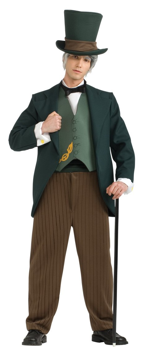 Rubie's Wizard Of Oz Wizard Costume, Green, X-Large