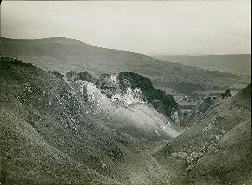 Vintage photo of Castelton: Peveril ()
