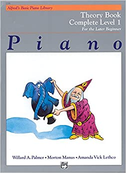 ??WORK?? Alfred's Basic Piano Library Theory Complete, Bk 1: For The Later Beginner. changes provides Research numeros Kazakh tunel