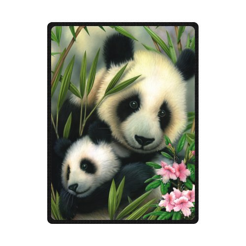 - Fashion Giant Panda Custom Blanket 58