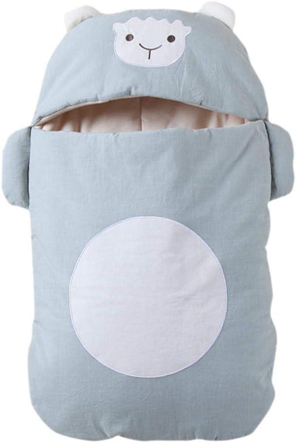Oso Bebé Edredón antideslizante Algodón Suave Cochecito de bebé Sacos de dormir Recién nacido Swaddle Manta Abrigo Invierno Recién nacido Sleepsack, 4: Amazon.es: Hogar