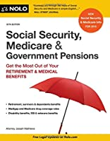 Social Security, Medicare & Government Pensions, 20th Edition Front Cover