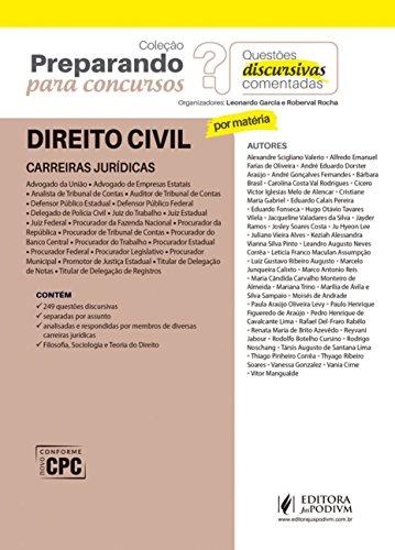 Direito Civil: Carreiras Jurídicas - Questões Discursivas Comentadas