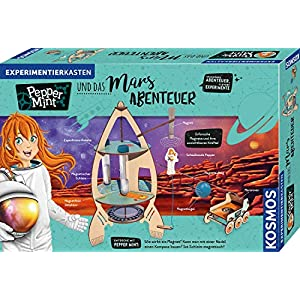 Pepper Mint und das Mars-Abenteuer: Experimentierkasten (Juego)