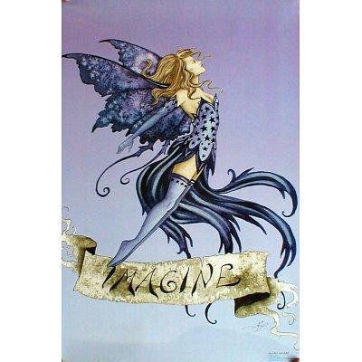 "Amy Brown (Imagine Fairy) Art Poster Print - 24"" X 36"""