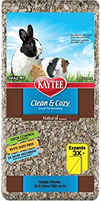 Amazon Com Kaytee Clean Cozy Natural Small Animal Bedding 24 6 Liters Pet Beds Pet Supplies