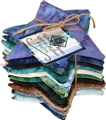 McKenna Ryan Bali Batiks 1895 Signature Palette 20 Fat Quarters Hoffman Fabrics MRSPFQ-ASST -