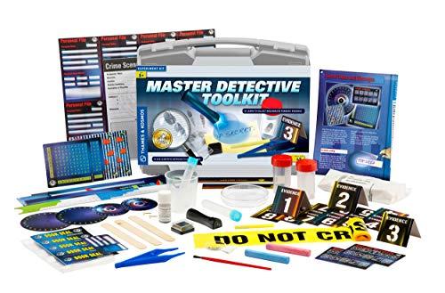 Thames & Kosmos Master Detective Toolkit | Forensic Science Experiment Kit | Fingerprints, Footprints, Tire Tracks | 32…