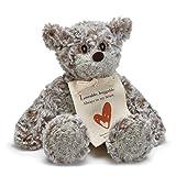 Demdaco Loveable Huggable Mini Giving Bear Children's Plush Stuffed Animal Toy