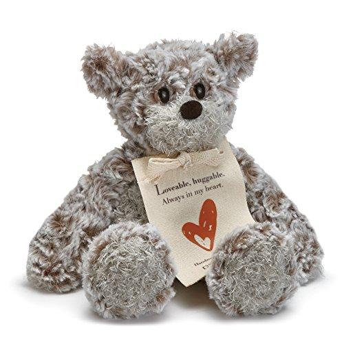 Demdaco Loveable Huggable Mini Giving Bear Children's Plush Stuffed Animal Toy by Demdaco