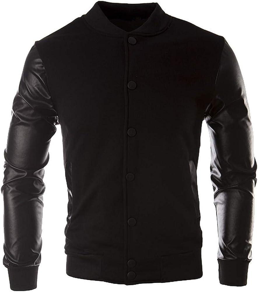 Man Hoodies,Ronamick Mens Sports Raglan Autumn Winter Casual Solid Long Sleeve Hoodie Sweatshirt Top Blouse Pullover Tracksuits